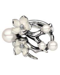 Shaun Leane - Gray Cherry Blossom Diamond Ring - Lyst
