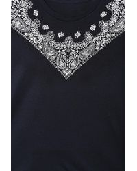 Urban Outfitters   Black Fun Artists Bandana Tee for Men   Lyst
