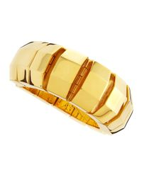 Eddie Borgo - Yellow Octagon Slip-On Bracelet - Lyst
