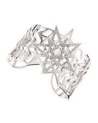 Eddie Borgo - Metallic Pentagram Cuff - Lyst