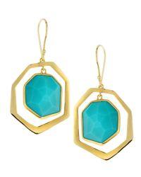 Ippolita - Blue Turquoise Dangling Earrings - Lyst