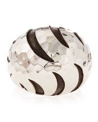 John Hardy | Metallic Palu Macan Striped Dome Ring Size 6 | Lyst
