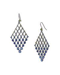 Steve Madden - Blue Earrings - Lyst