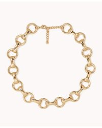 Forever 21 - Metallic Round Chain-link Necklace - Lyst