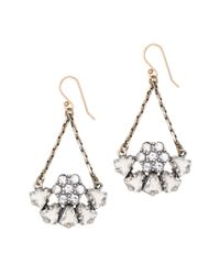 J.Crew - Metallic Lulu Frost Indian Summer Earrings - Lyst
