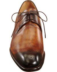 Harris | Brown Wholecut Blucher for Men | Lyst