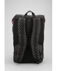 Urban Outfitters - Black Herschel Supply Co Polka Dot Little America Backpack for Men - Lyst