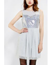 Urban Outfitters - Metallic Jack By Bb Dakota Isadora Sequin Dress - Lyst