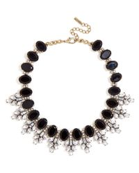 BaubleBar | Black Crystal Conifer Collar | Lyst