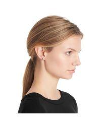 COACH - Pink Puffed Heart Earrings - Lyst