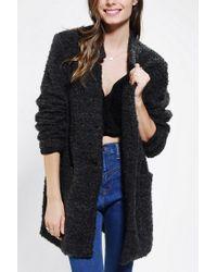Urban Outfitters   Gray Bb Dakota Oversized Nubby Woolen Jacket   Lyst