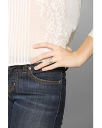 Urban Outfitters - White Macha Rockwell Iii Ring - Lyst
