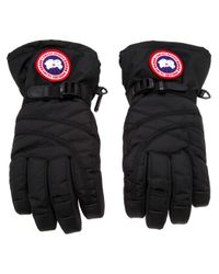 Canada Goose | Black Buckle Strap Glove | Lyst