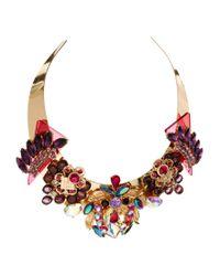 ASOS | Black Rising Sun Choker Necklace | Lyst
