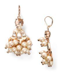 kate spade new york - Metallic Clink Clink Statement Earrings - Lyst