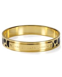 Marc By Marc Jacobs | Metallic Dot Print Bangle | Lyst