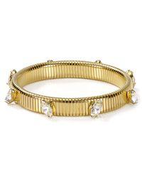 R.j. Graziano - Metallic Holiday Small Stretch Bracelet - Lyst