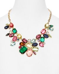 R.j. Graziano | Multicolor Color Luxe Cluster Statement Necklace 16 | Lyst