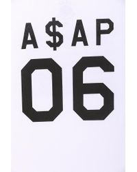 Urban Outfitters - White Aap Rocky 06 Tee for Men - Lyst