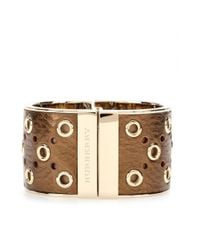 Burberry | Metallic Leathercoated Cuff | Lyst