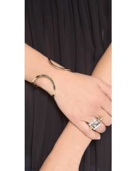 Campbell - Metallic Floating Cuff Bracelet - Lyst