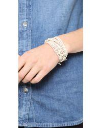Chan Luu - Natural Wrap Bracelet - Lyst
