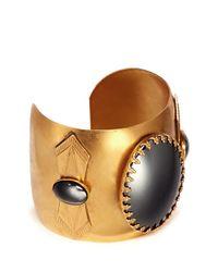 Ela Stone - Metallic Miller Stone Cuff Bracelet - Lyst