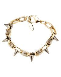 Joomi Lim | Gray Spike Chain Link Bracelet | Lyst