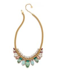 Juicy Couture - Metallic Teardrop Chain Link Necklace - Lyst