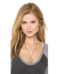 Kelly Wearstler - Metallic Hudson Pendant Necklace - Lyst