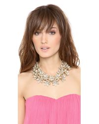 Lee Angel | Natural Multi Flower Statement Necklace | Lyst