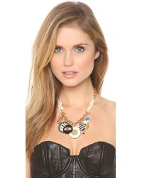 Marc By Marc Jacobs | Black Dynamite Charm Necklace | Lyst