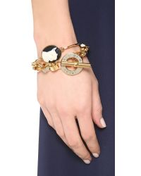 Marc By Marc Jacobs | Metallic Enamel Toggle Bracelet | Lyst
