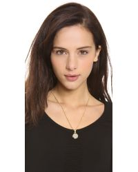 Marc By Marc Jacobs | Metallic Locket Necklace | Lyst
