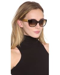 Marc By Marc Jacobs - Brown Classic Gradient Sunglasses Blackgray Gradient - Lyst