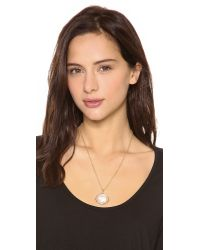 Marc By Marc Jacobs - Natural Bunny Cameo Pendant Necklace - Lyst