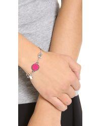 Marc By Marc Jacobs - Pink Animal Medley Bracelet - Lyst
