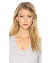 Marc By Marc Jacobs - Pink Locket Necklace - Lyst