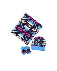 Pendleton - Blue Jacquard Knit Layette Set - Lyst