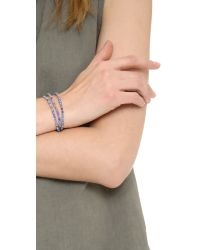 Tai - Blue Delicate Beaded Bracelet - Lyst