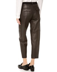 Thakoon Addition - Black Full Leather Pants - Lyst