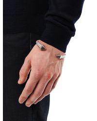 Alexander McQueen   Metallic Anatomical Bracelet   Lyst