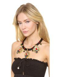 Holst + Lee - Black Holst Lee Poppy Haze Triple Pendant Necklace - Lyst
