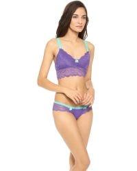 Honeydew Intimates - Purple Claudia Lace Bralette - Lyst