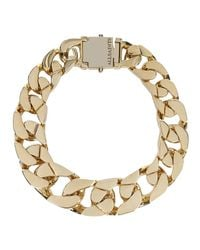 AllSaints - Metallic Valtari Necklace - Lyst