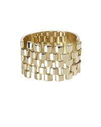 AllSaints - Metallic Sevigne Cuff - Lyst