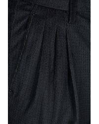 Armani - Blue Trouser with Tucks for Men - Lyst