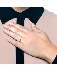 Lulu Frost - Metallic New Code 18kt Exclamation Point Ring - Lyst