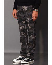 Forever 21 - Black Combat Camo Pants for Men - Lyst