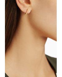 Noor Fares | Metallic Geometry Semi Dress 18karat Gold Earrings | Lyst
